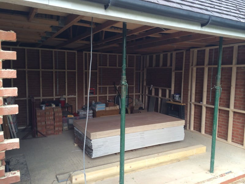 Garage Conversions Builders in Chelmsford, Brentwood, Essex
