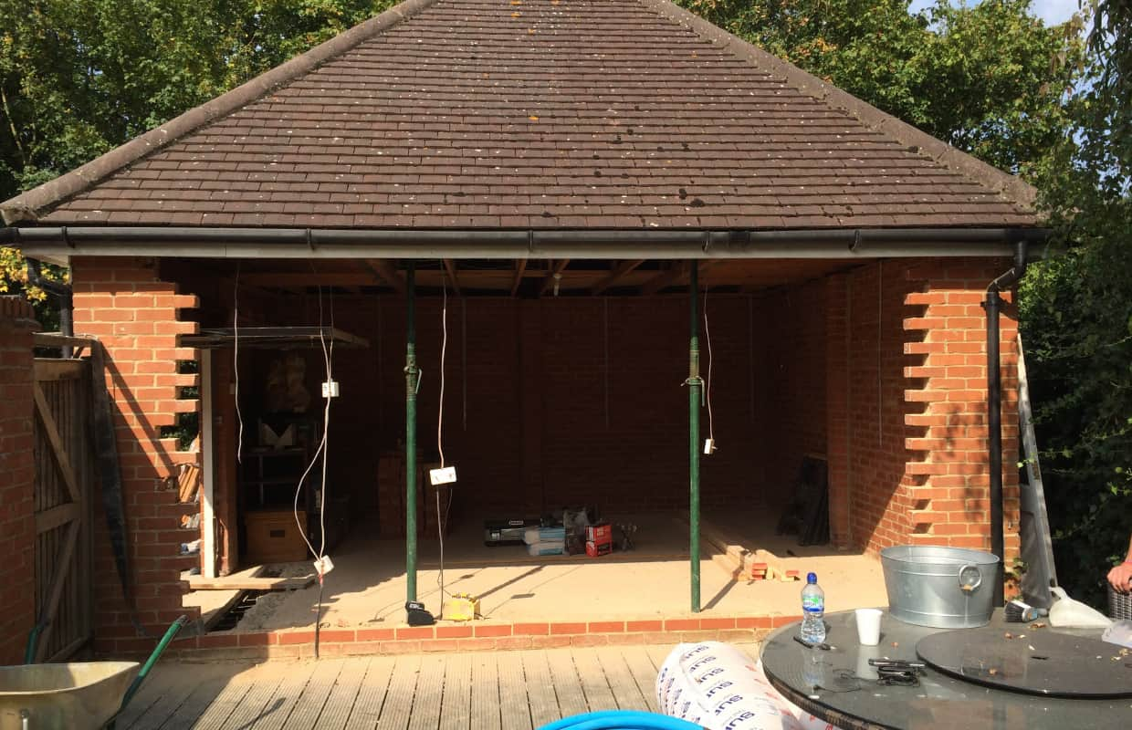 Garage Conversion, Hatfield Heath, Hertfordshire
